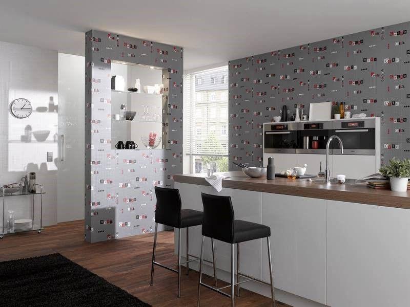 Papel pintado para cocina recomendaciones para tu mejor - Papel decorativo cocina ...
