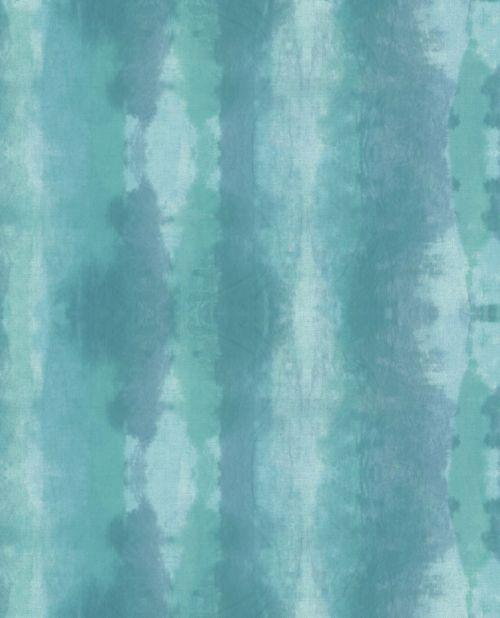 Papel para pared de color turquesa