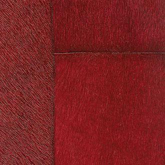 Papel de pared rojo de imitación piel