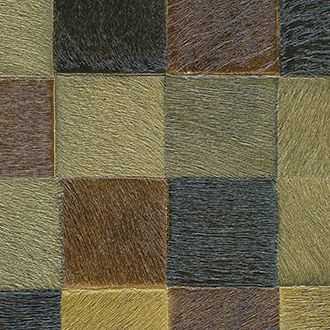 Papel para pared de piel multicolor