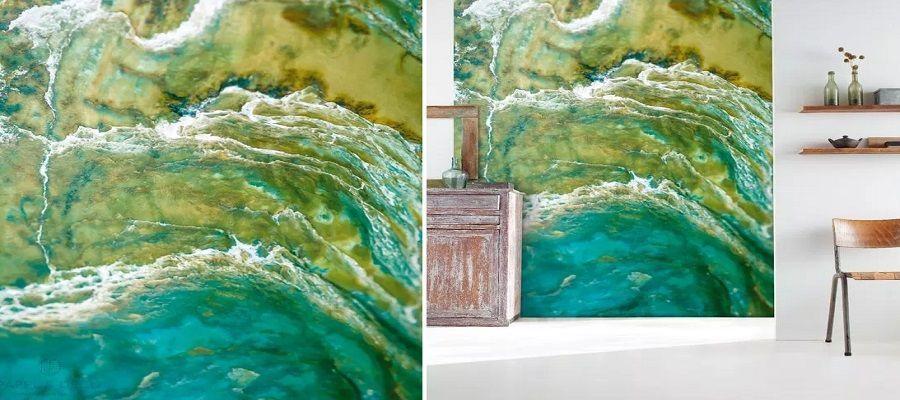 colorines - Papel pintado de piedra: el estilo rústico llega a tu casa