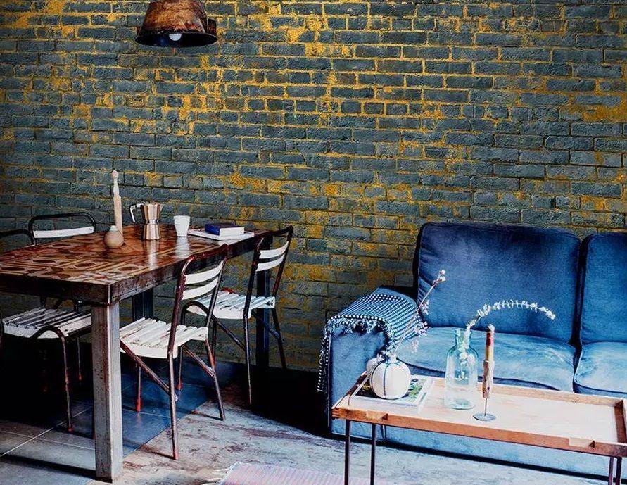 papel pintado piedra - Papel pintado de piedra: el estilo rústico llega a tu casa