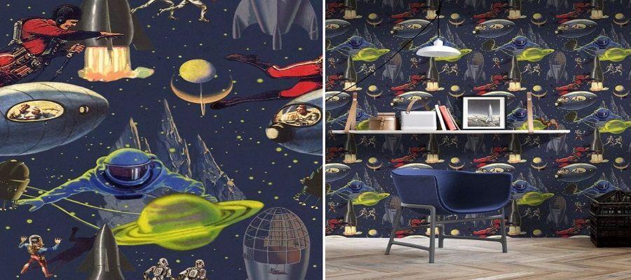 Papel pintado Intergalactic - Mind The Gap