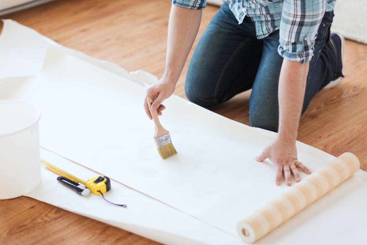 trucos papel pintado - Trucos maestros para sacarle el máximo partido al papel pintado decorativo