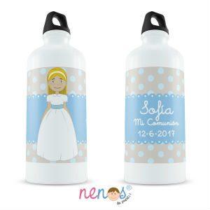 Regalo Personalizado Botella Termo Personalizada Comunión Niña
