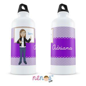 Botella Termo Personalizada Profesora
