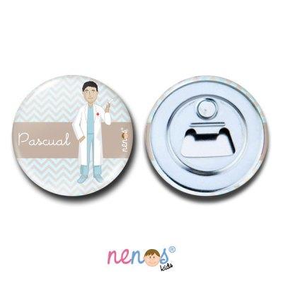 Imán Abrebotellas Personalizado Enfermero