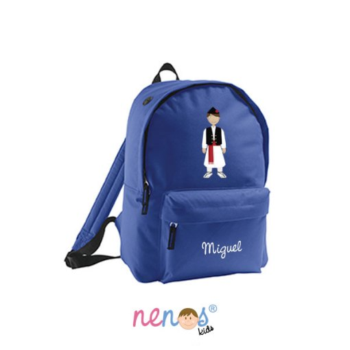 Mochila escolar personalizada Huertano