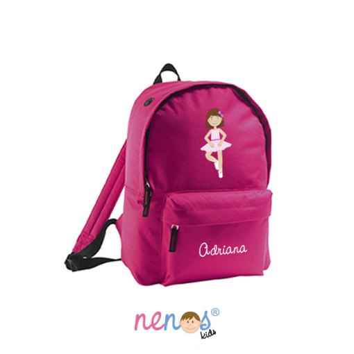 Mochila escolar personalizada Bailarina