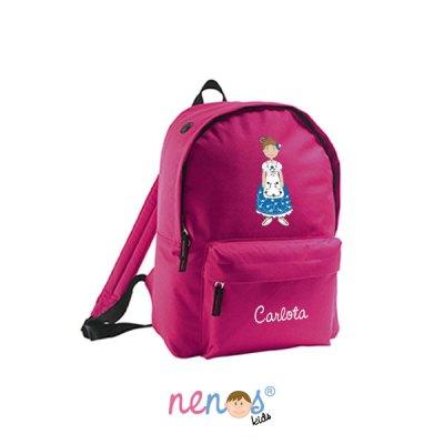 Mochila escolar personalizada Huertana