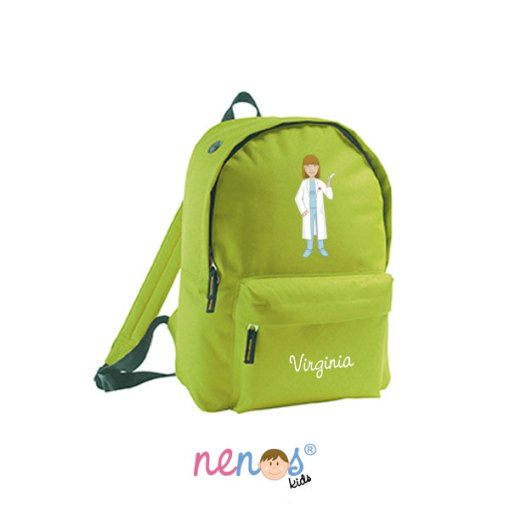 Mochila escolar personalizada Enfermera