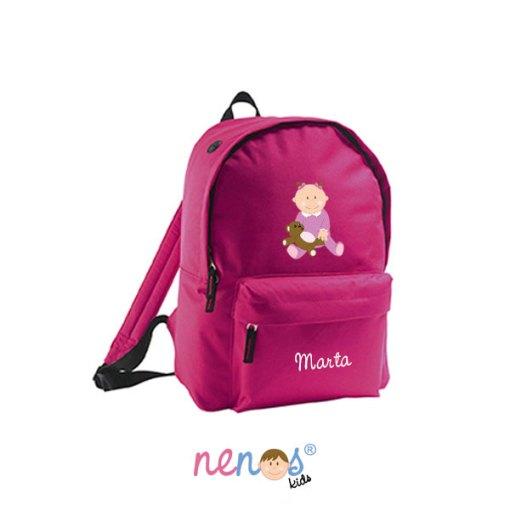 Mochila escolar personalizada Bebé Niña