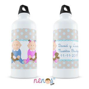 Botella Termo Personalizada Bebés Niño y Niña