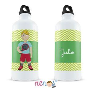 Botella Termo Personalizada Tenista Chico
