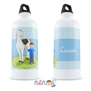 Botella Termo Personalizada Hípica Chico