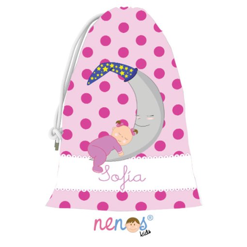 Bolsa de Desayuno Bebé Nena Luna