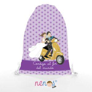 Bolsa de Piscina Novios en Moto