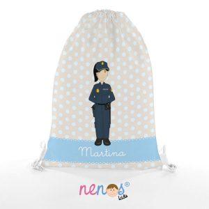 Bolsa de Piscina Mujer Policía