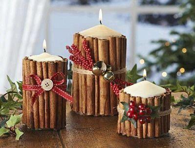 Cena de Navidad con tus hijos. Prepara el centro de mesa.