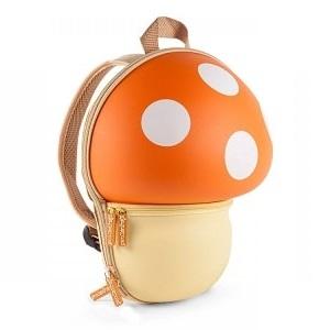 Mochila infantil para guardería Champiñón Naranja