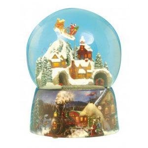 Bola de Navidad Tren Jingle Bells
