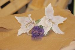 Lilium blanco de papel (6)