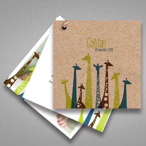 faire-part-naissance-girafe-en-papier-recyclé