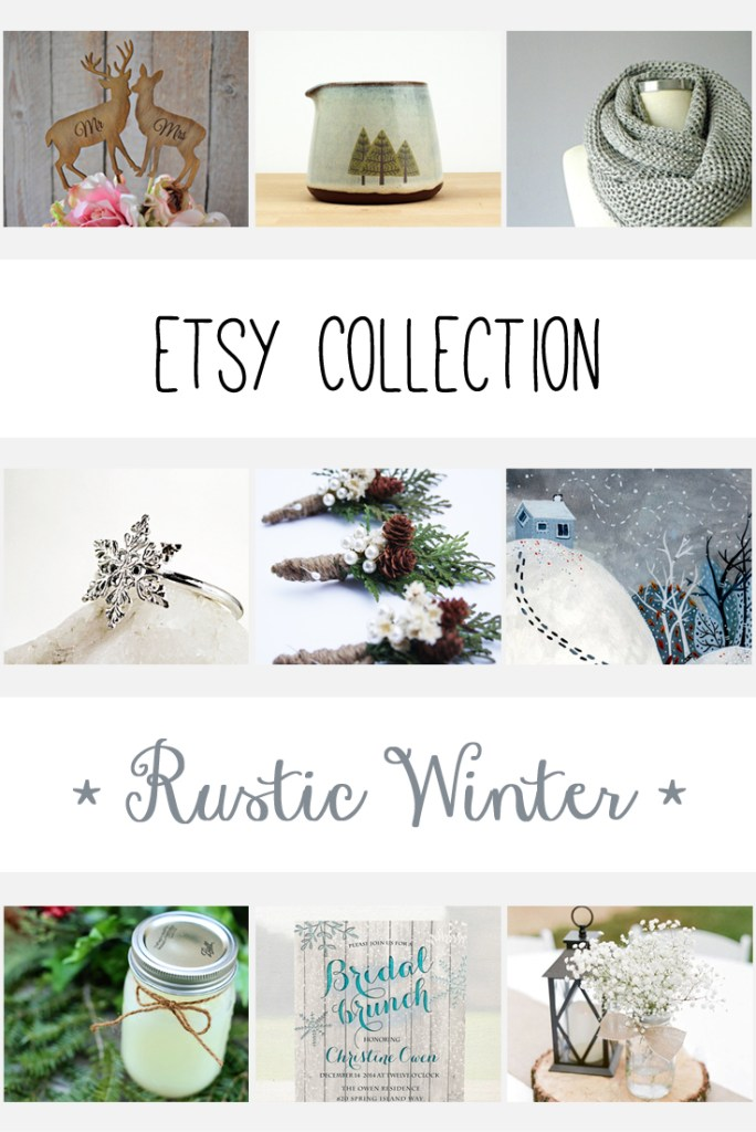 Etsy Collection - Winter - Paper and Landscapes