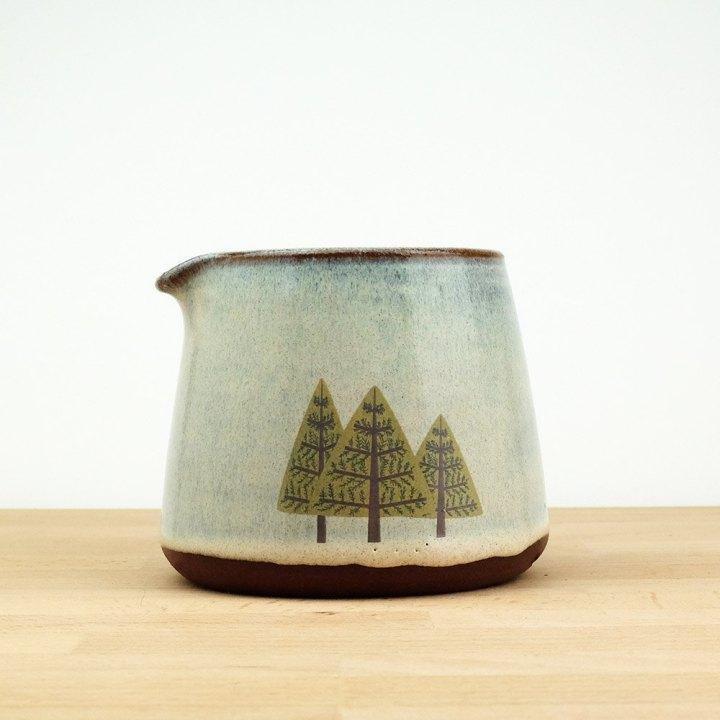 Pine Trees Pourer Creamer