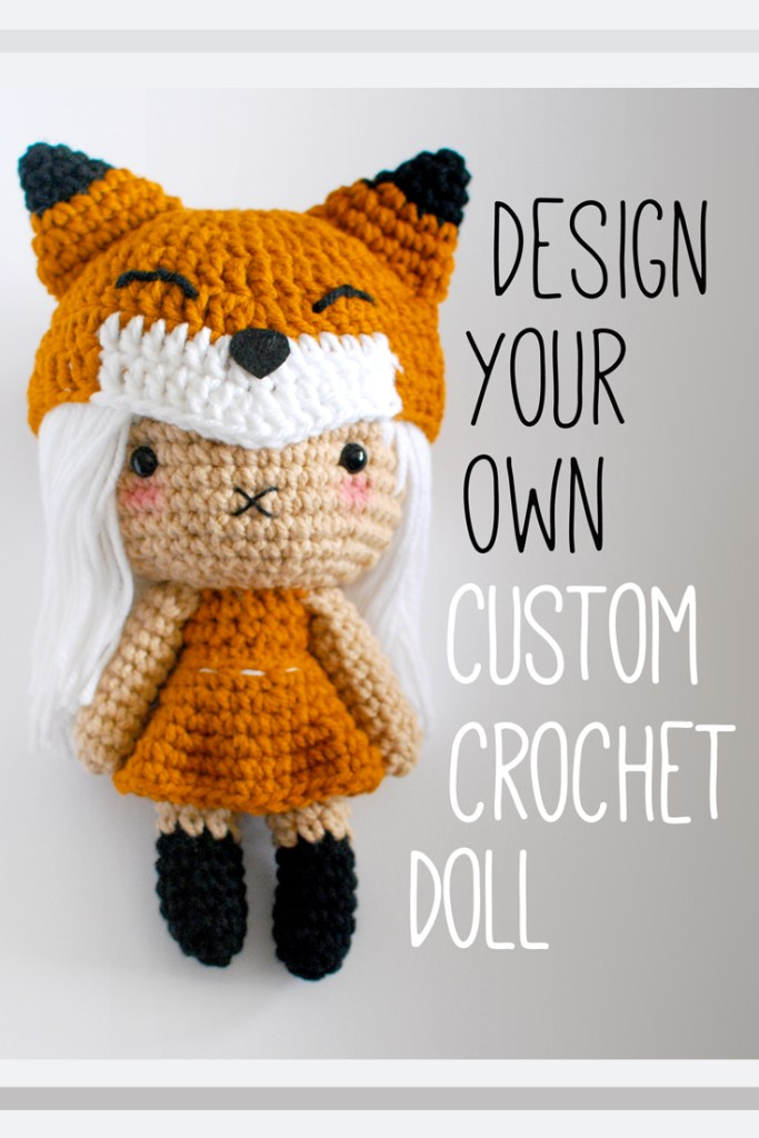 PIN - Custom Crochet Doll - Paper and Landscapes