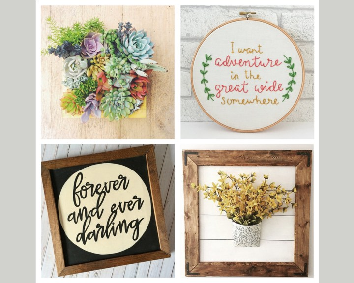 Etsy Collection – Framed