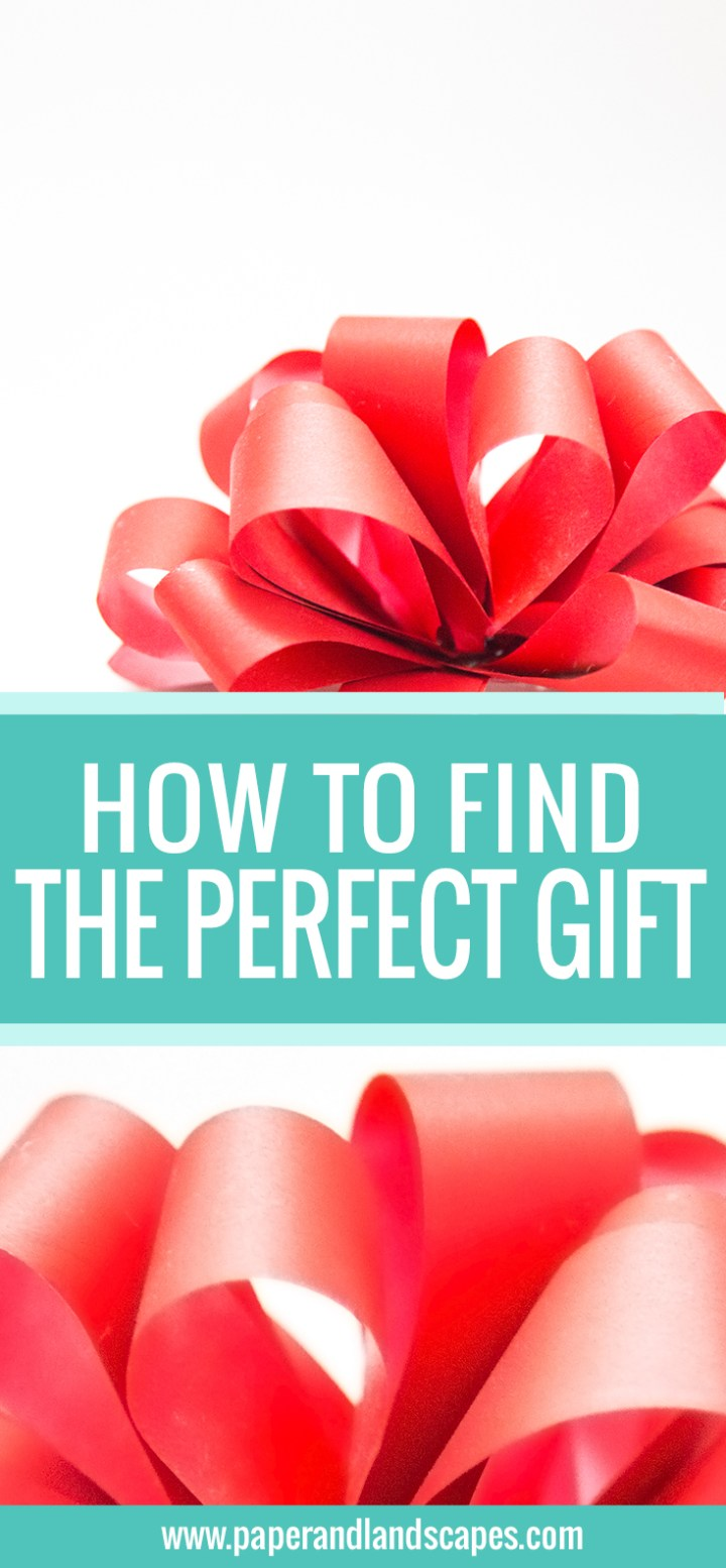 How to find the perfect gift - Pinterest