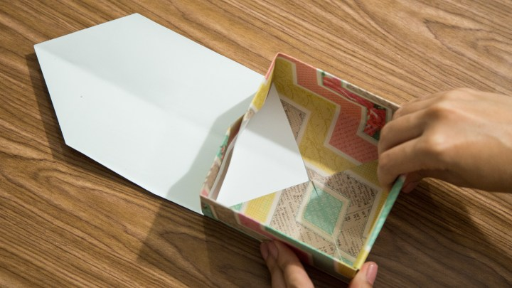 Easy Scrapbook Paper Box Tutorial 11