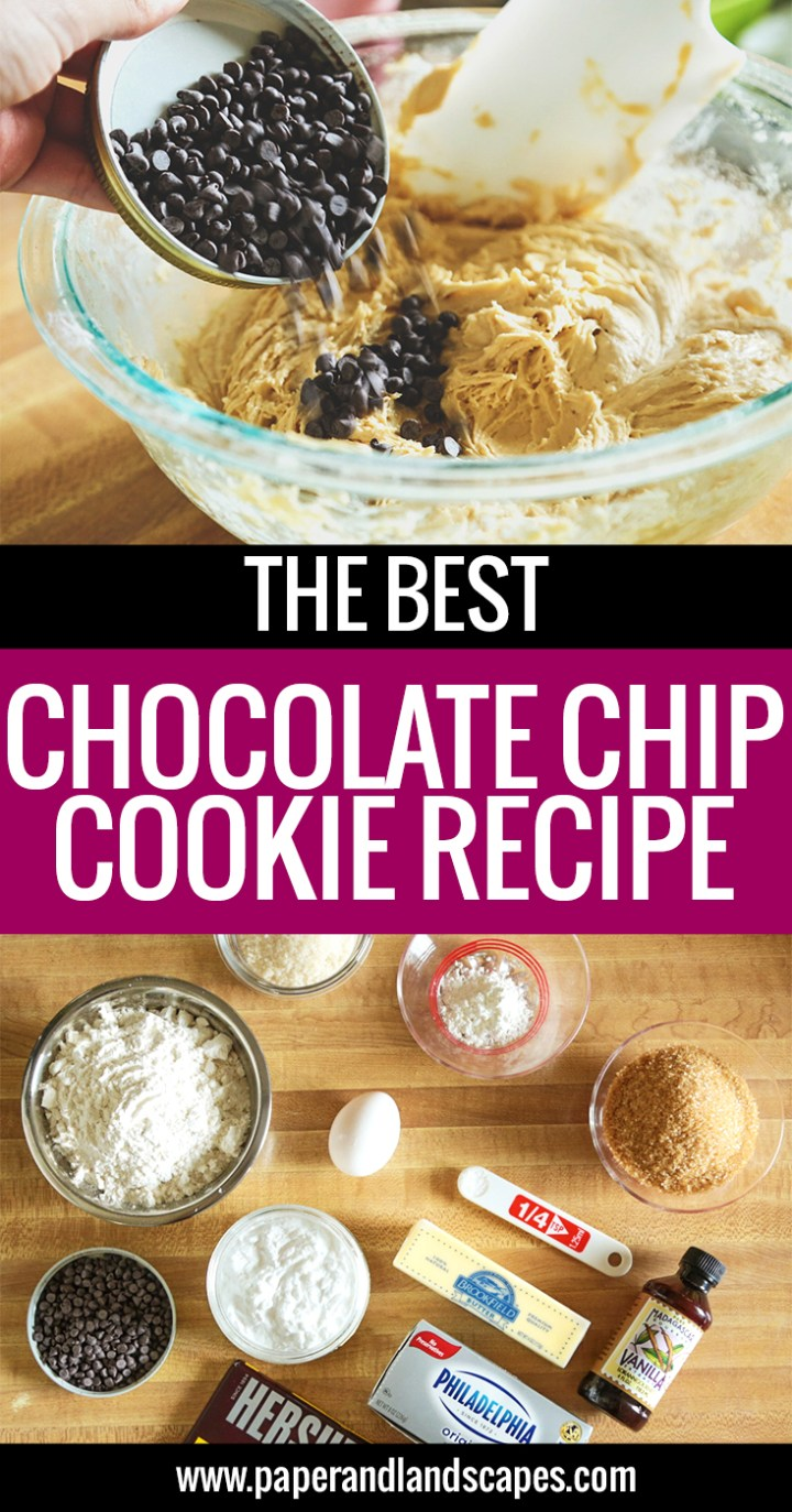 Chocolate Chip Cookie Recipe - Pinterest