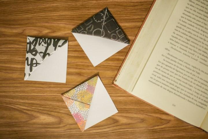 DIY Easy & Cute Corner Bookmark 12