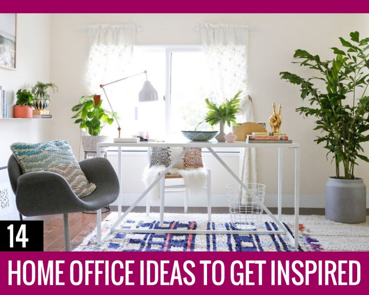 14 Home Office Ideas to Get Inspired