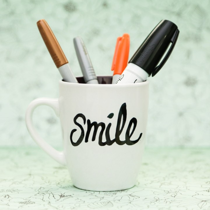 DIY Sharpie Mug Tutorial - 10