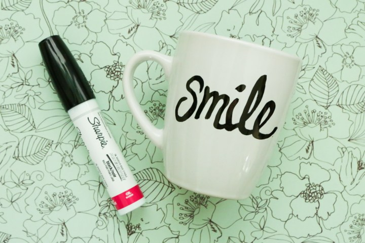DIY Sharpie Mug Tutorial - 9