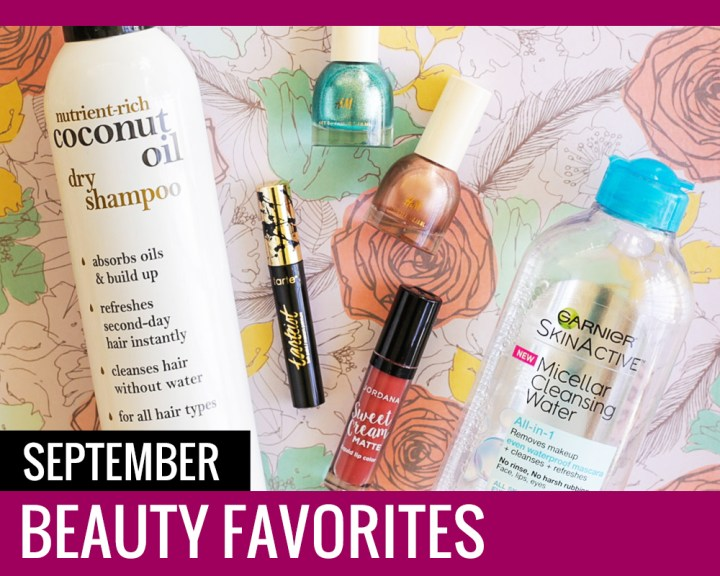 September Beauty Favorites - Paper and Landscapes