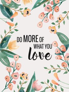 What You Love - Wallpaper Tablet - Paper and Landscapes