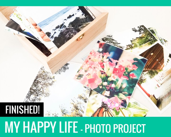 My Happy Life Photo Project: Finished!