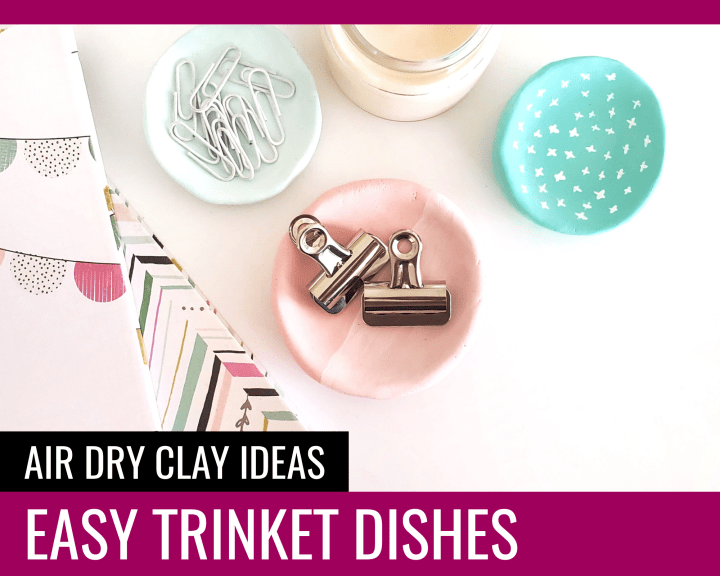 Easy Trinket Dishes - Paper and Landscapes