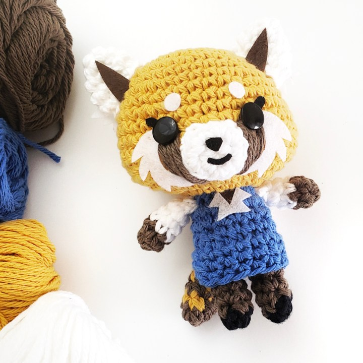 Retsuko Crochet Doll Free Pattern And Video Paper And Landscapes