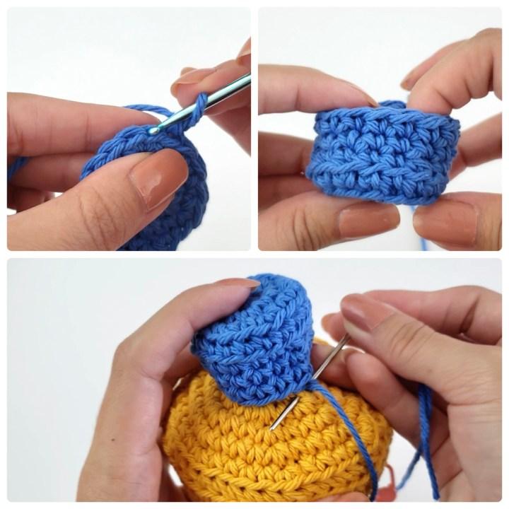 Mini doll pattern mini crochet doll knitted doll pattern | Etsy | 720x720