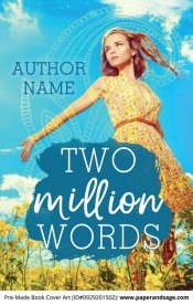 Pre-Made Book Cover ID#0929201502 (Two Million Words)