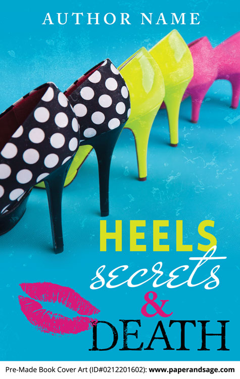 Premade Book Cover Art : Premade book cover  heels secrets death