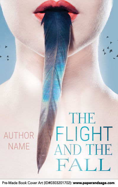 Pre-Made Book Cover ID#0303201702 (The Flight and the Fall)