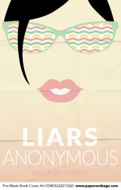 Pre-Made Book Cover ID#0522201502 (Liars Anonymous)