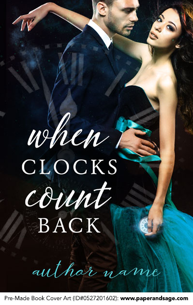 Pre-Made Book Cover ID#0527201602 (When Clocks Count Back)