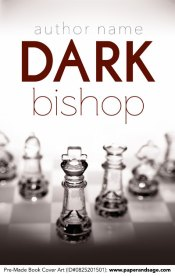 Pre-Made Book Cover ID#0825201501 (Dark Bishop)